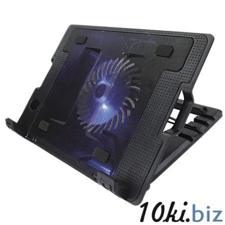 """Подставка охлажд. Crown CMLS-926 для ноутбука до 15,6"""", 1 вен. 140 мм, черная Подставки для ноутбуков в России"""