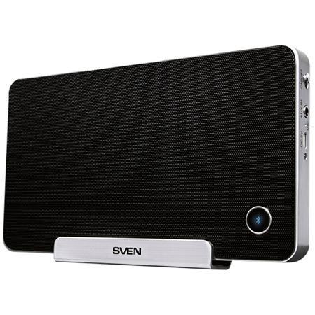 Портативная bluetooth-колонка Sven PS-100BL, черная