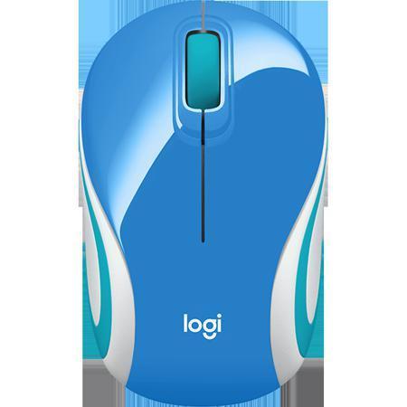 Мышь Logitech M187 Wireless Mouse Blue