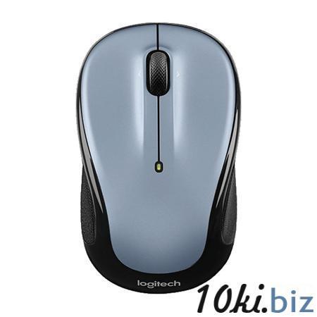 Мышь Logitech M325 Wireless Mouse Light Silver USB Компьютерные мыши и клавиатуры в Москве