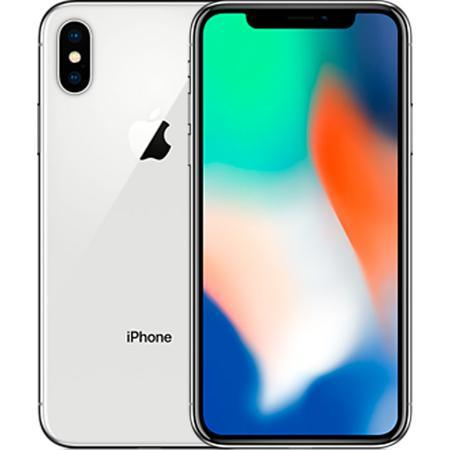 Смартфон Apple iPhone X 64GB Silver (MQAD2RU / A)