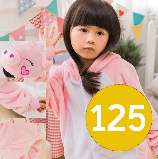 Детская Пижама Кигуруми Свинка Рост 116-125