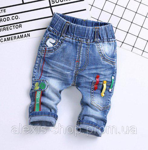 Бриджи для мальчиков джинсовые Sport