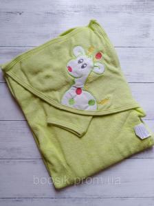 Полотенце-уголок для купания