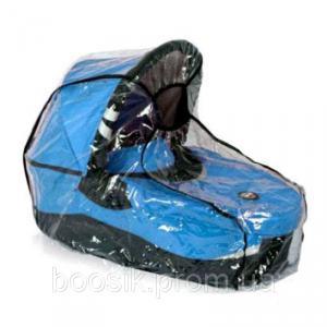 Универсальный дождевик на коляску с окошком