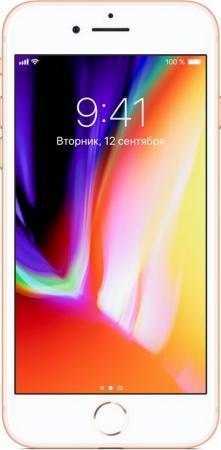 """Смартфон Apple iPhone 8 золотистый 4.7"""" 256 Гб NFC LTE Wi-Fi GPS 3G MQ7E2RU/A"""