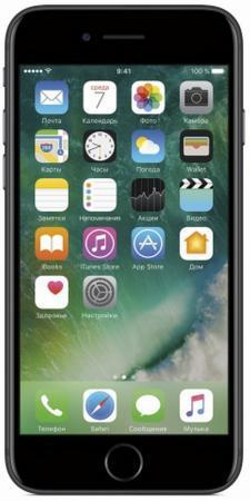 "Смартфон Apple iPhone 7 черный 4.7"" 128 Гб NFC LTE Wi-Fi GPS 3G MN922RU/A"