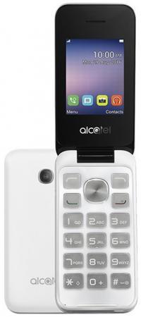 """Мобильный телефон Alcatel OneTouch 2051D белый 2.4"""""""