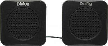 Колонки Dialog Colibri AC-01UP 1Вт USB черный