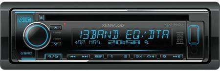 Автомагнитола Kenwood KDC-320UI USB MP3 CD FM RDS 1DIN 4х50Вт черный
