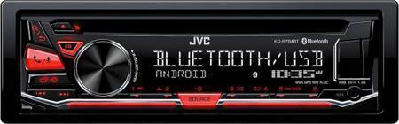 Автомагнитола JVC KD-R784BT USB MP3 CD FM 1DIN 4x50Вт черный