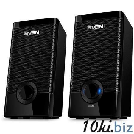 2.0 Колонки SVEN 318 2*2.5W Black USB Усилители звука, колонки в Москве