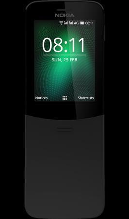 Nokia Телефон Nokia 8110 4G Black (черный)