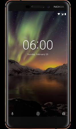 Nokia Смартфон Nokia 6.1 32GB Black (черный)