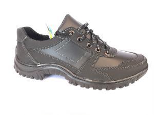 Фото Спортивные туфли и мокасины мужские Туфли спортивный на шнурках мужские черный Perfect - T-15