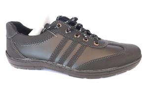 Фото Спортивные туфли и мокасины мужские Туфли спортивный на шнурках мужские черный Perfect - T-20