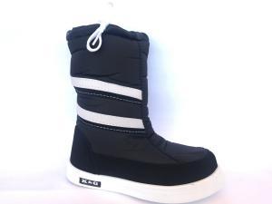 Фото Зимняя детская и подростковая обувь Зимние дутики, сапоги для девочек Д-3 черные