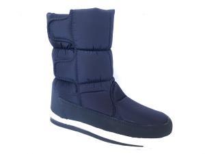 Фото Обувь зимняя женская, сапоги, ботинки Сапоги дутики женские аляска K&G 09 синие (липучка)