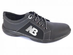 Фото Спортивные туфли и мокасины мужские Туфли спортивный на шнурках мужские черный ANKOR №41(спорт)