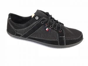 Фото Туфли мужские, Туфли мужские летние Туфли спортивный на шнурках мужские черный VERTA -1
