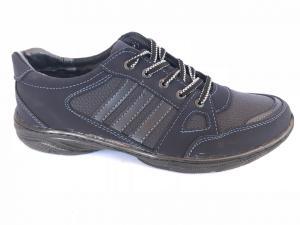 Фото Спортивные туфли и мокасины мужские Туфли спортивный на шнурках мужские синий Pilot - K-23/3
