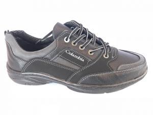Фото Спортивные туфли и мокасины мужские Туфли спортивный на шнурках мужские серый Comfort T-10