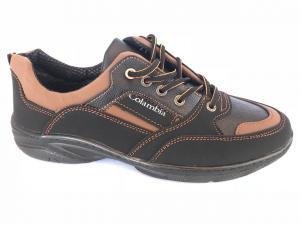 Фото Спортивные туфли и мокасины мужские Туфли спортивный на шнурках мужские коричневый Comfort T-10