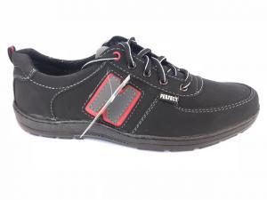 Фото Спортивные туфли и мокасины мужские Туфли спортивный на шнурках мужские черный  Perfect - T-10