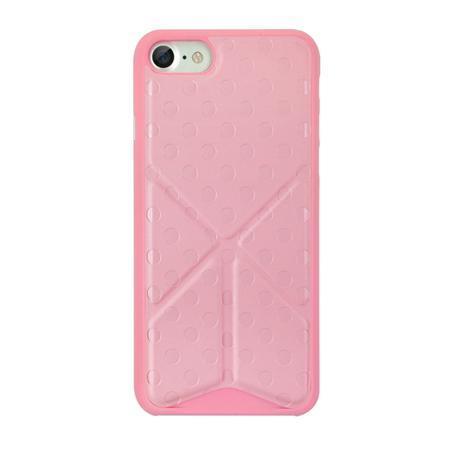 Чехол для iPhone 7 Ozaki O!coat 0.3 Totem Versatile розовый