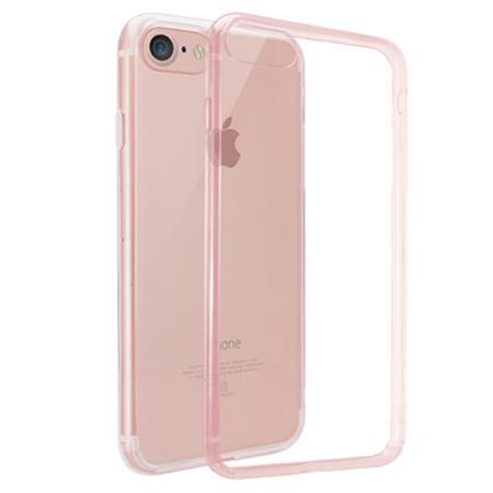Чехол для iPhone 7 Ozaki O!coat Crystal прозрачный-розовый