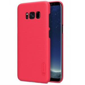 Фото  Чехол для Samsung Galaxy S8+ SM-G955 Nillkin Super Frosted Shield красный