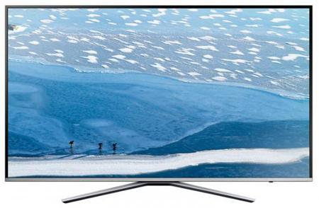 "Телевизор LED 49"" Samsung UE49MU6400UXRU серебристый 3840x2160 Wi-Fi Smart TV RJ-45 Bluetooth"