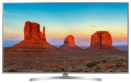 "Телевизор 50"" LG 50UK6710PLB титан 3840x2160 100 Гц Wi-Fi Smart TV RJ-45 Bluetooth"