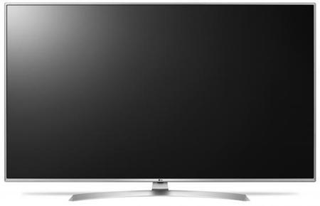 "Телевизор 65"" LG 65UJ655V серебристый 3840x2160 Wi-Fi Smart TV RJ-45 Bluetooth S/PDIF"