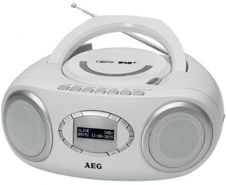 Магнитола AEG SR 4370 weis DAB+