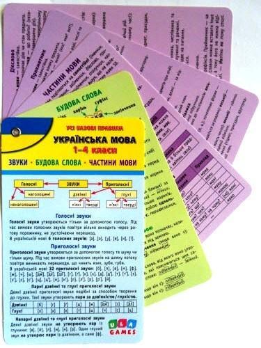 """Довідник """"Усі базові правила. Українська мова. 1-4 класи"""""""