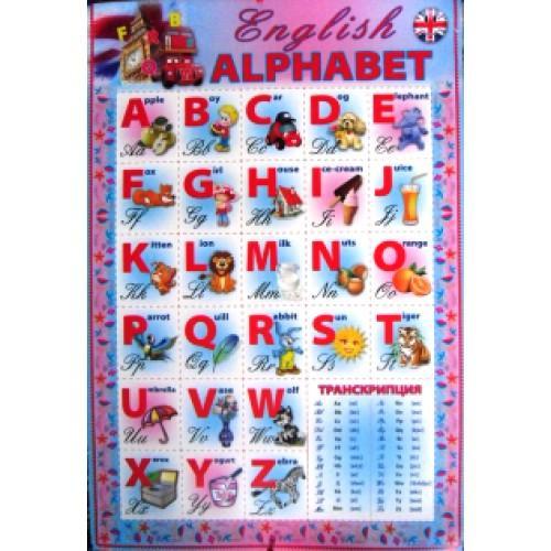 "Плакат ""English ALPHABET"""