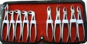 Набор щипцов экстракционных хирургические (10 шт)