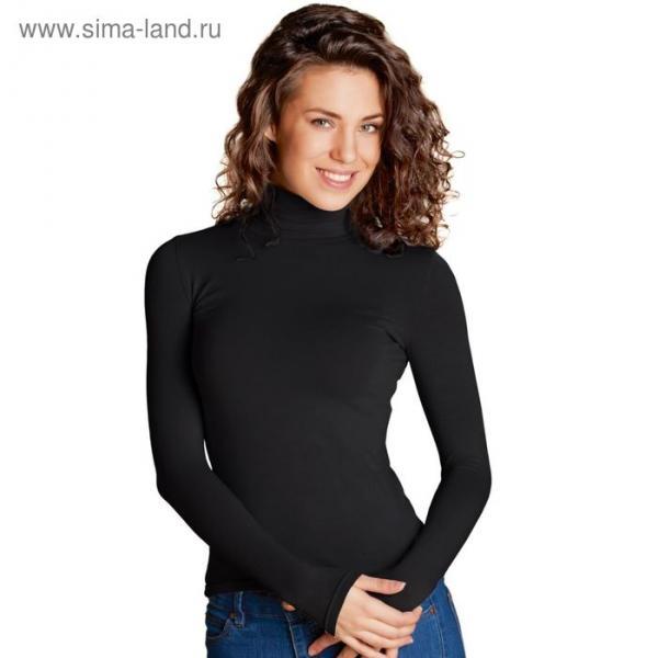 Водолазка женская StanElegant, размер 52, цвет чёрный 180 г/м 38