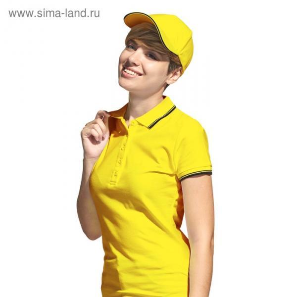 Бейсболка StanSpecial, one size, цвет жёлтый-чёрный 200 г/м 11К