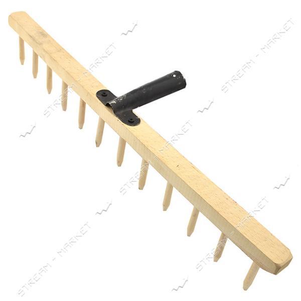 Грабли деревянные 12 зубов