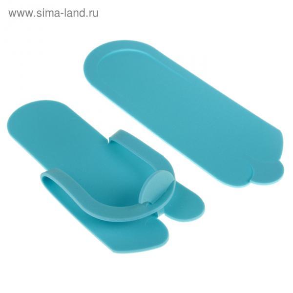 Тапочки- вьетнамки 4 мм синие