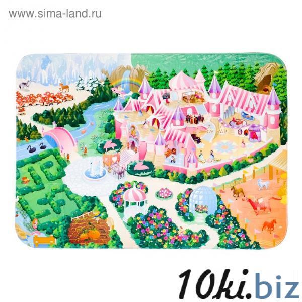 Детский ультрамягкий игровой коврик «Замок», размер 180х130 см купить в Гродно - Развивающие и игровые коврики
