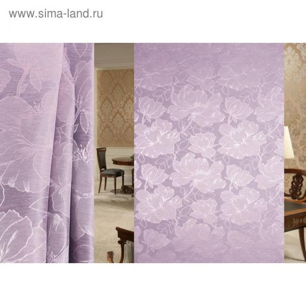 Ткань портьерная Interio в рулоне, ширина 150 см, жаккард 94504