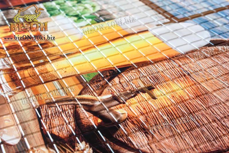 Фото Листовые панели ПВХ Панно «НОСТАЛЬГИЯ» (3 листа в комплекте)   Листовые панели ПВХ