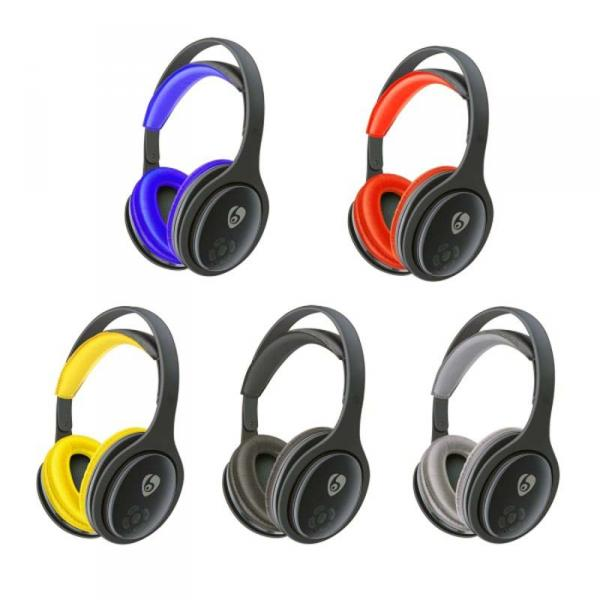 Наушники OVLENG MX555 Bluetooth Black-Blue