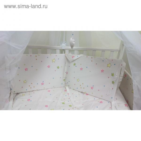 Комплект в кроватку Star, 7 предметов, сатин