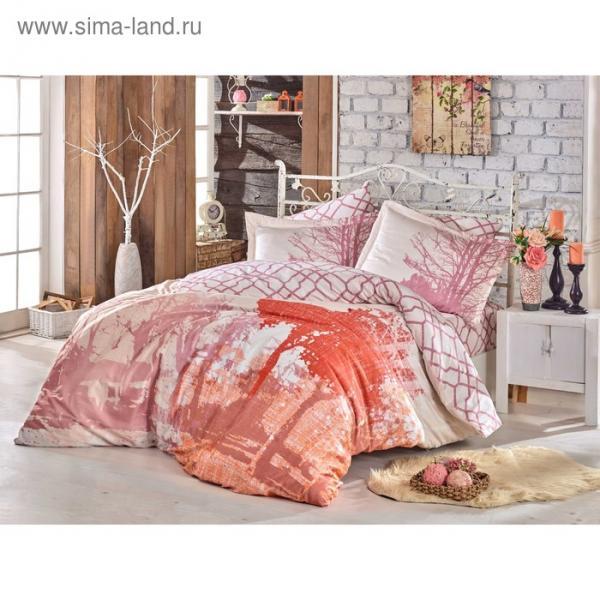 КПБ Alandra 1,5 сп., 160х240 см, 160х220 см, 50х70 см, 70х70 см, по 1 шт., розовый