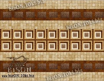 Фото Листовые панели ПВХ Панно «КВАДРАТ КОРИЧНЕВЫЙ» (3 листа в комплекте)   Листовые панели ПВХ