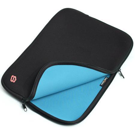 """10"""" Папка для ноутбука BagspacePS-810-10BU (черно-голубая)"""